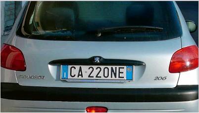 8e7f9a330d Targhe PERSONALIZZATE - Forum Enti.it