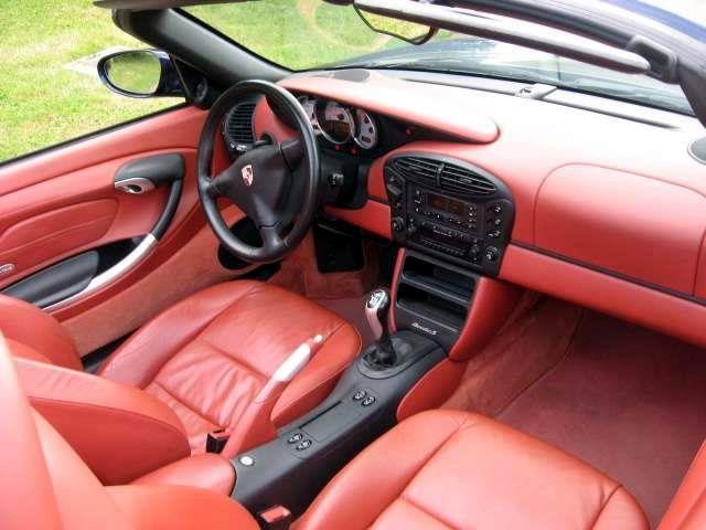 Kit Rigenera Colore Porsche Pelle Boxster Rosso Interni 986 Sedile rigenera cura