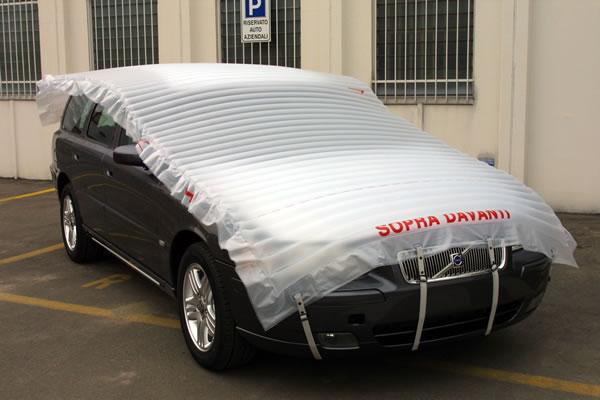 Materassino antigrandine auto pannelli decorativi plexiglass for Teli decorativi