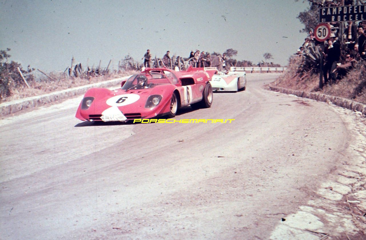 Porschemania It Foto Gallery Targa Florio 3 5 1970 6 Vs 12
